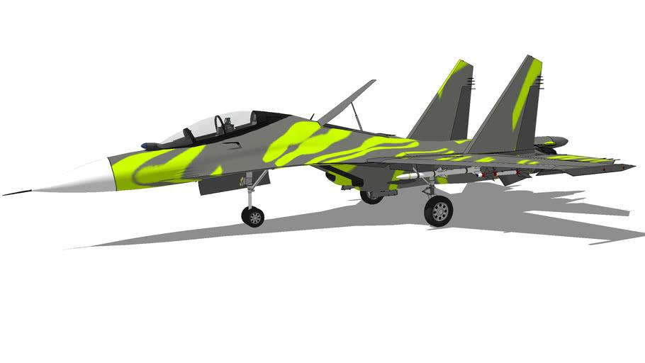 "Aircraft - Sukhoi Su-27UB ""Flanker"""