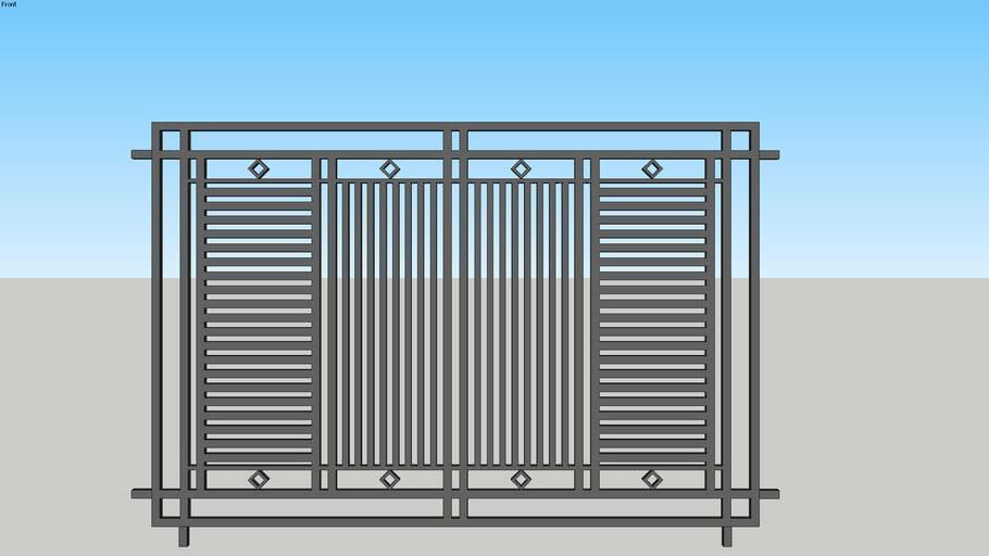 Pagar Minimalis | 3D Warehouse