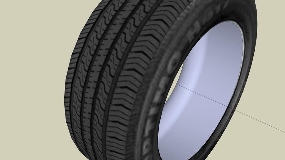 Vehicle tire - 225/65R15 HANKOOK Optimo H417