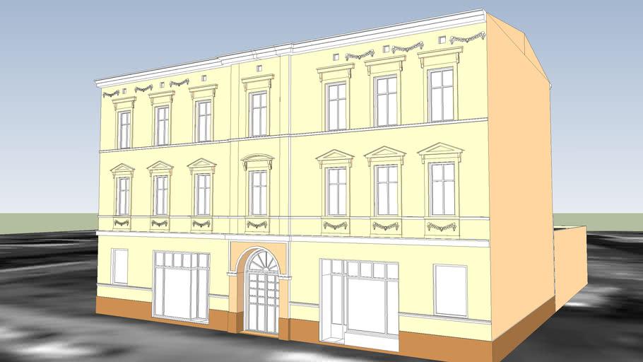 TENEMENT HOUSE ON 55 POMORSKA STREET IN BYDGOSZCZ