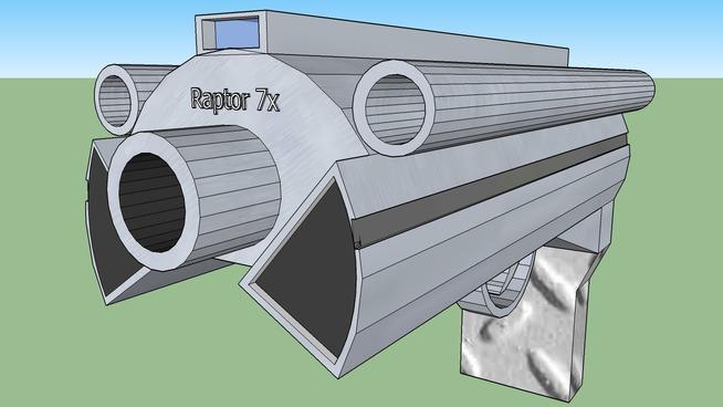 Raptor 7x Pistol