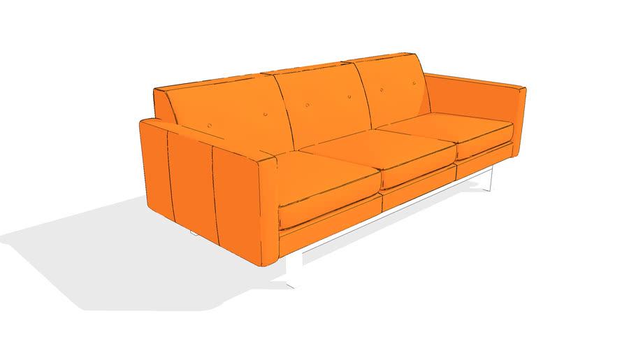 Jane 2 Sofa by Gus* Modern