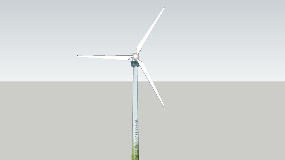 Wind turbine at Inwardleigh