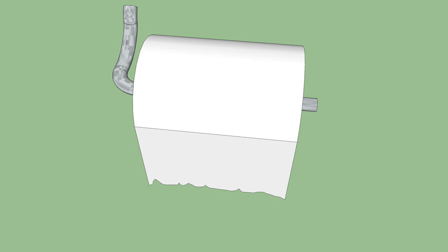 toilet paper roll and holder