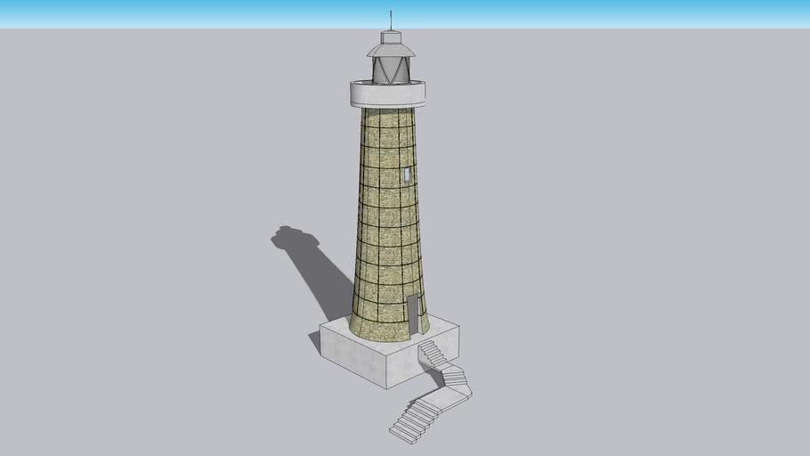 Torre faro RAZZOLI (Lighthouse tower Sardegna)