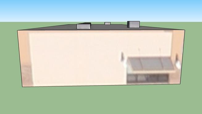 Edificio in Albuquerque, Nuovo Messico, Stati Uniti