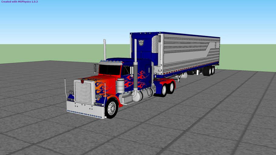 MSPhysics Truck on Tutorial (update Smoke & track camera)