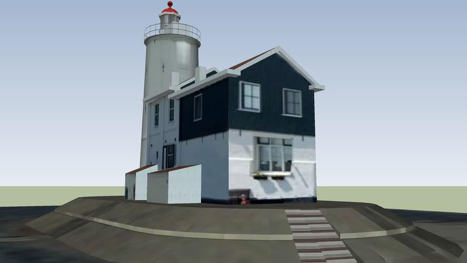 Lighthouse.. Paard van Marken