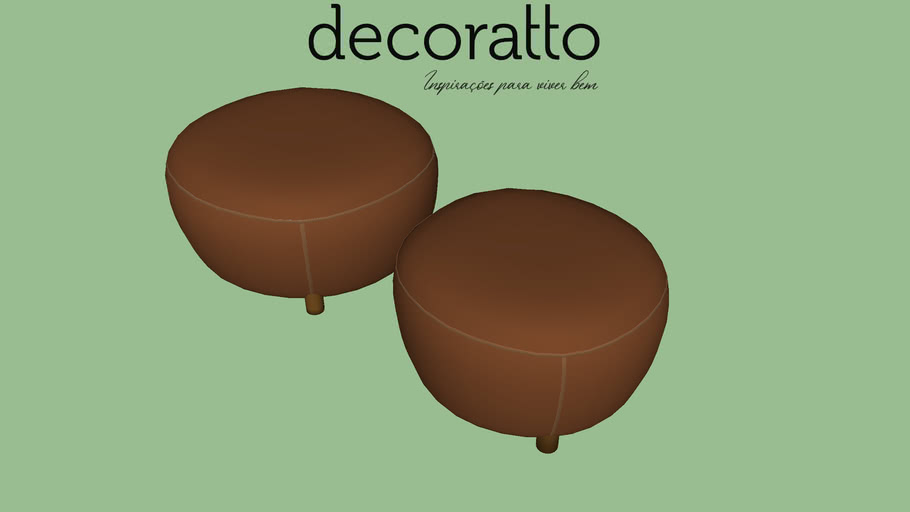 PUFF DECORATTO MALI