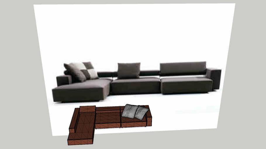 sofa+B_B+Italia+model