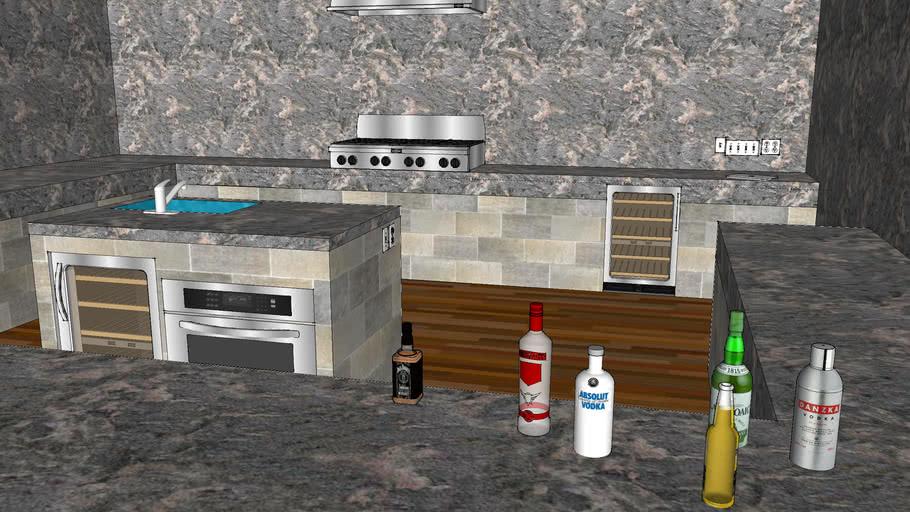Kitchen & Bar Marble Editon