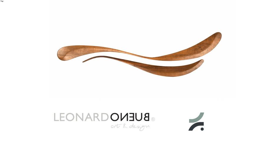 Escultura Meninos - Leonardo Bueno