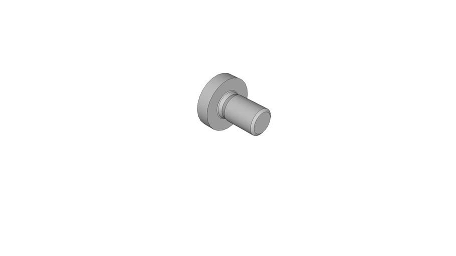 0714158010 Cross recessed raised cheese head screws DIN 7985 AM5x8 -H
