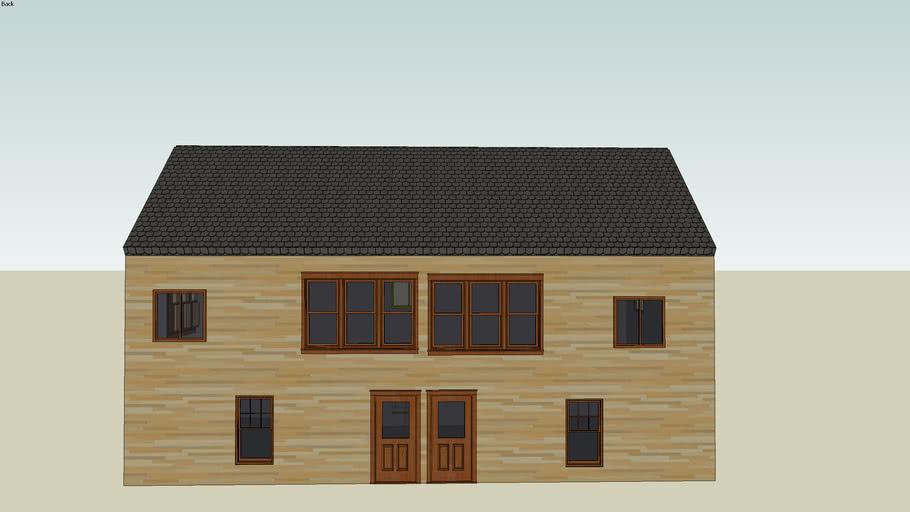 big wood house