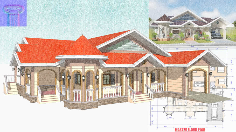 Modern 4 Bedroom House Design Id 24509 Home Plans By Maramani