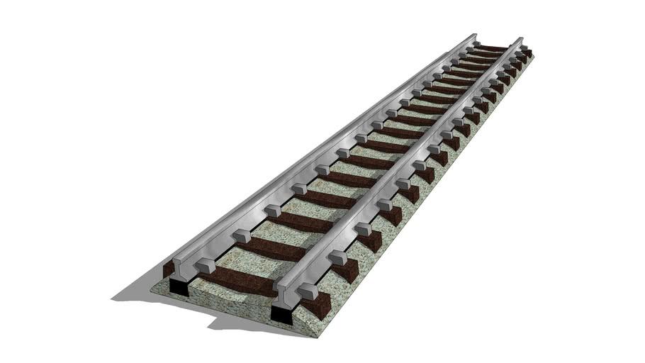 modelrailtrack-N-fm9101-111mm