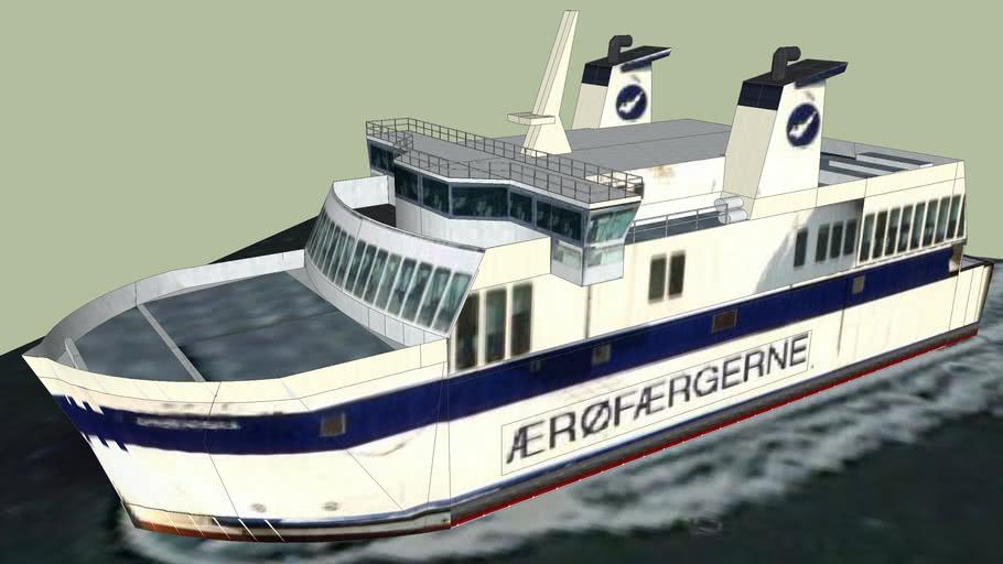 The ferry 'Marstal'