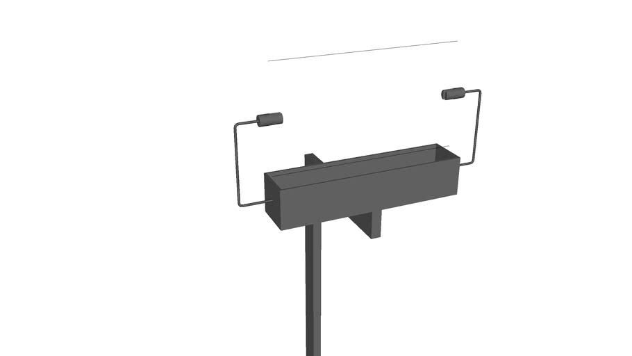 Model A wall lamp
