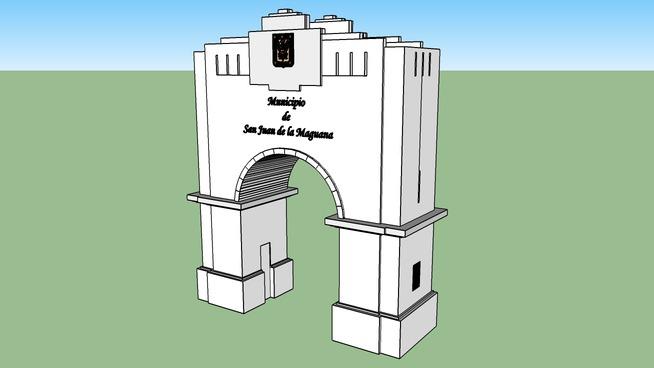 Arco del Triunfo KMZ