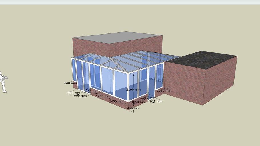 L-Shaped Conservatory