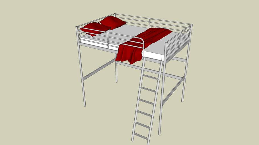 IKEA TROMSÖ high bed
