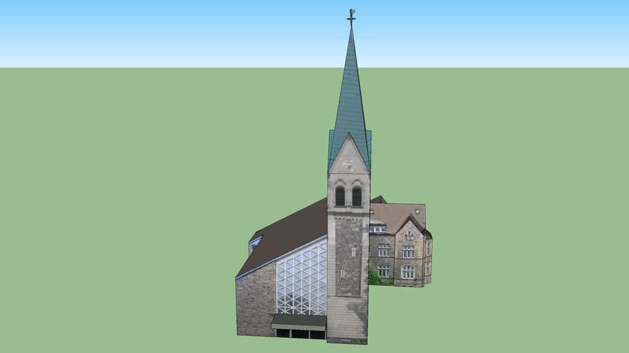 Ev. Lutherkirche in Duisburg- Duissern