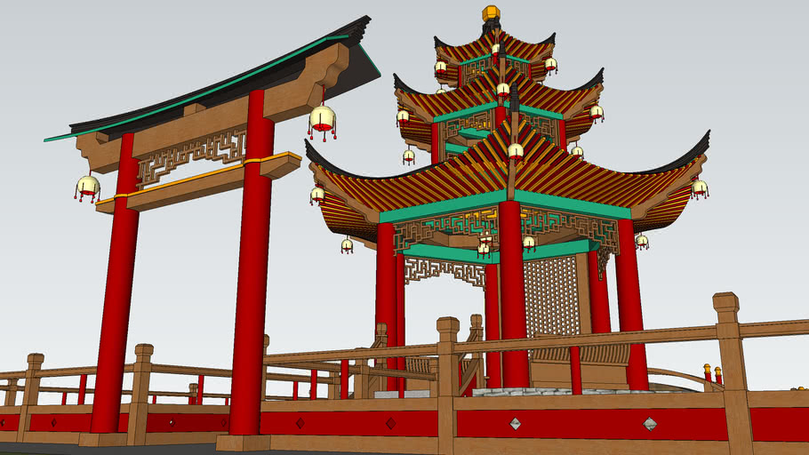 Fish Pagoda