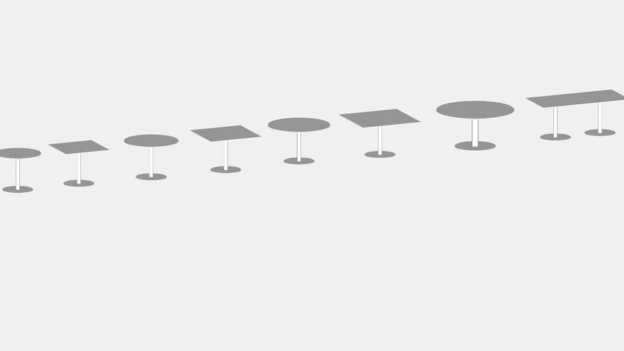 "Veer - 29"" high tables"