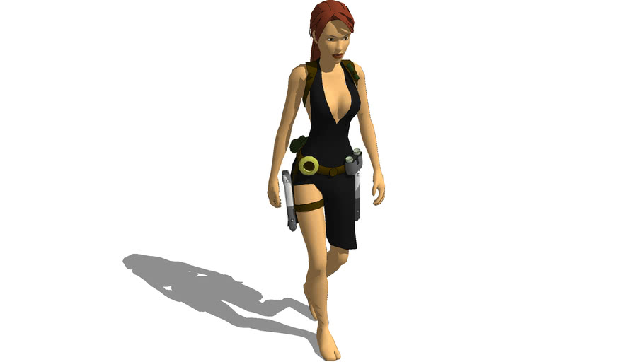 Lara Croft Tomb Raider Legend Evening Dress 3d Warehouse