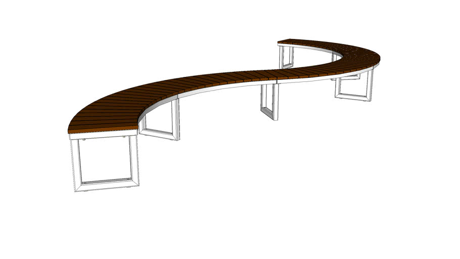 LAYT_OGM1900-00047 Backless Curved Bench