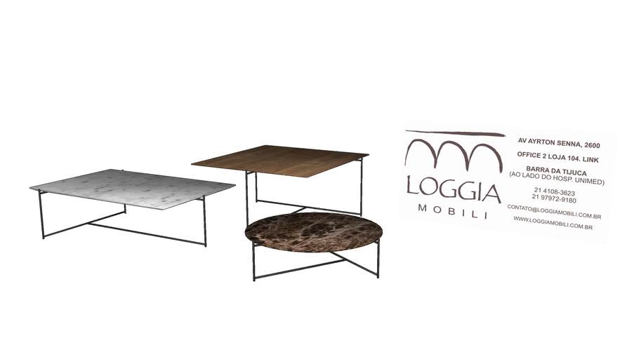 Mesa de Centro Metries TM Loggia Mobili