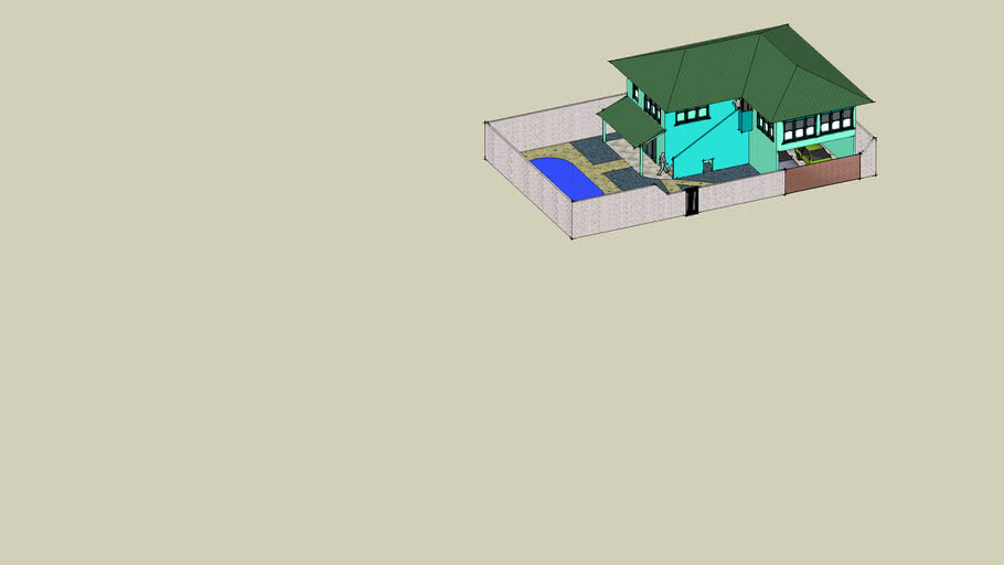 Casa Terreno 25X15