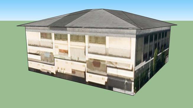 Building in Nakagyō Ward, Kyōto City, Kyōto Prefecture, Japan