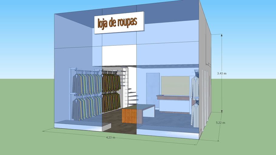 lojas de roupas