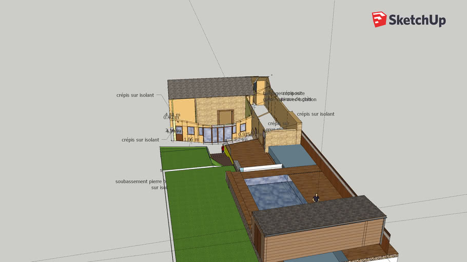 Plan Maison 4 3d Warehouse