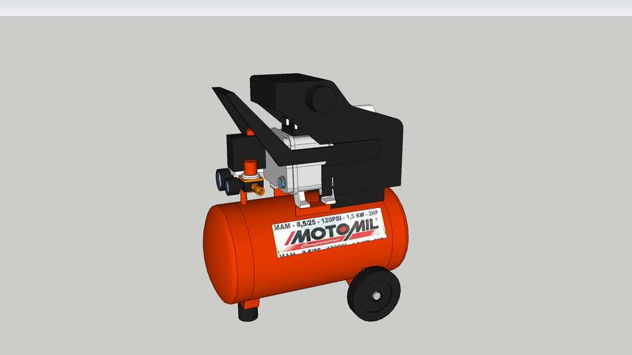 Air Compressor Hobby - Motomil MAM - 8,7/24L