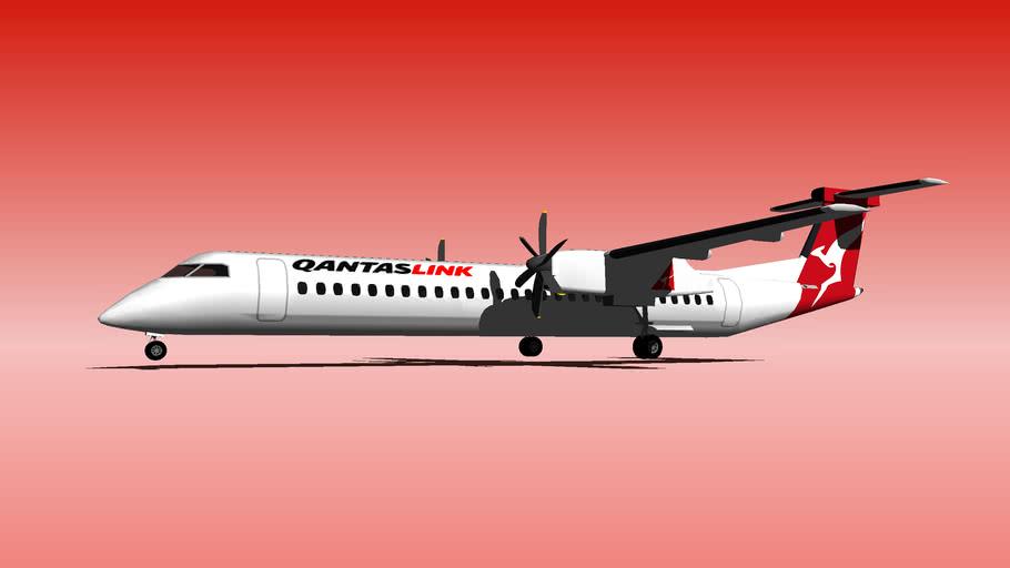 Qantas Dash 8 LINK