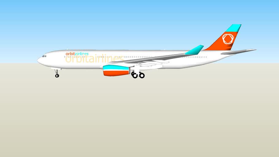 Orbit Airlines Airbus A330-200