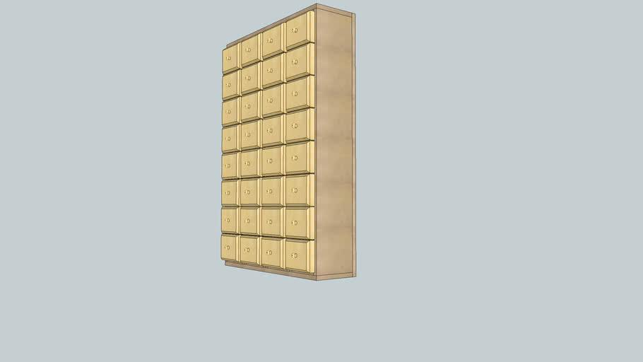 Casier A Vis 3d Warehouse