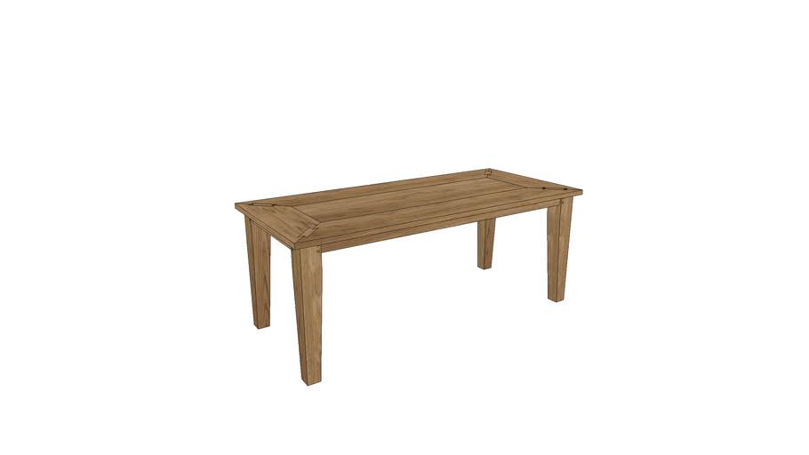 CM103, Cambridge Dining Table 200x90cm