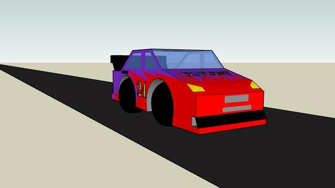 Jeff Gordon Car Of Tomorow