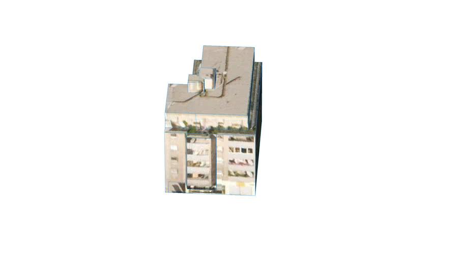 Building in Wien, 1220 Vienna, Austria