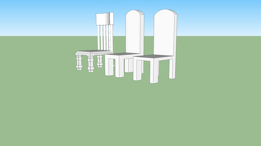 3 cool chairs