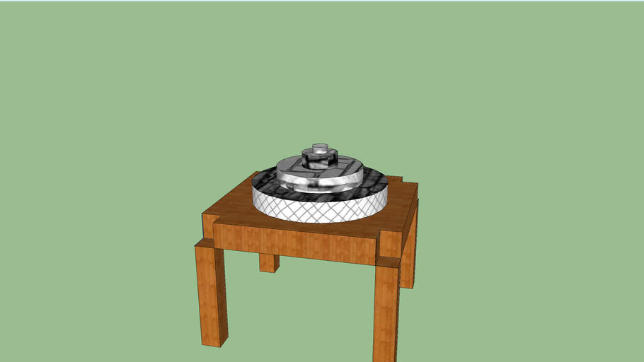 Wooden Dart Board Table