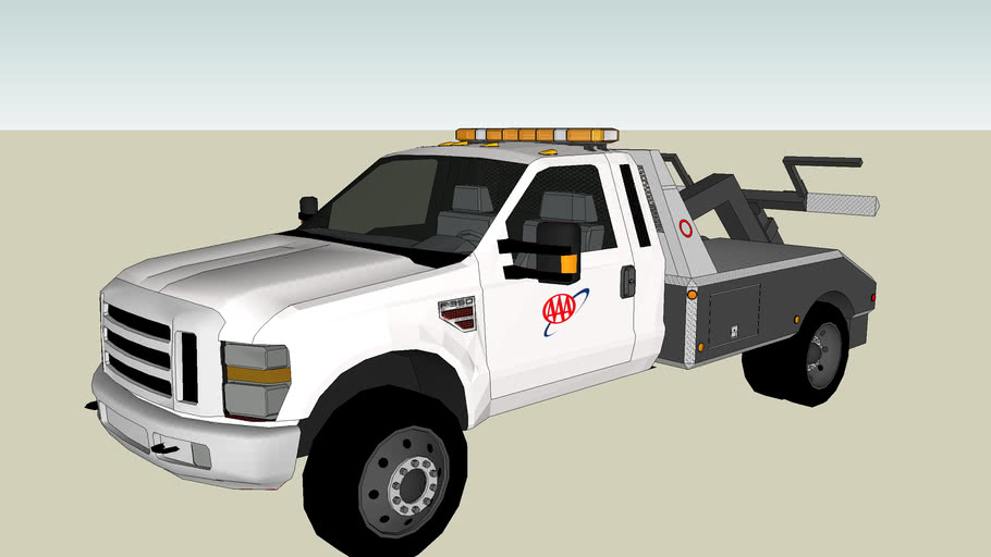 AAA Towing & Recovery F-350