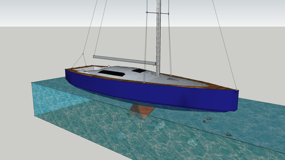 sailing boat: Jeanneau 58