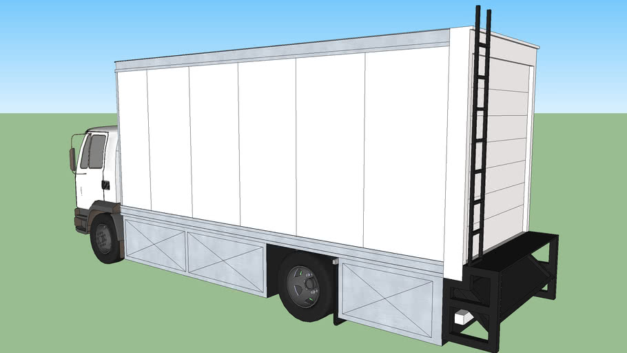 5Ton Movie Equipment Truck