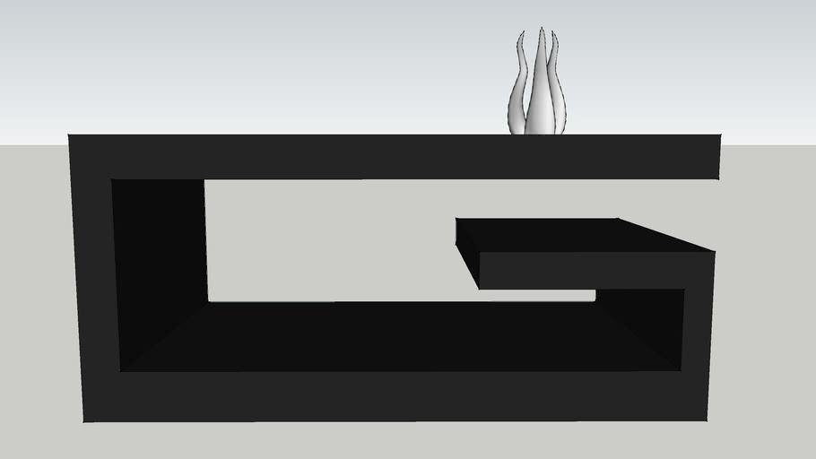 Mod Black Coffee Table