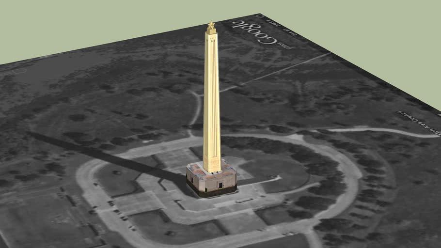 San Jacinto Monument in LaPorte TX