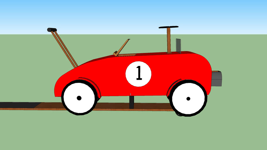 Classic Car Interactive Toy